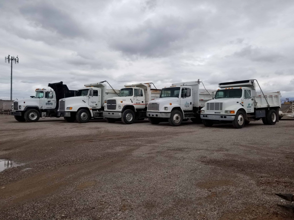 Land Technics dunp trucks 3, Mesa AZ